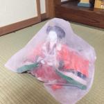 不織布は、ひな人形の保管にもおすすめです。