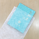 写真アルバムの保管に不織布製平袋
