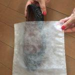 薄葉紙よりラクチン!不織布製平袋