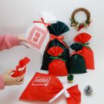 クリスマスのおすすめリボン&ソフトバッグ