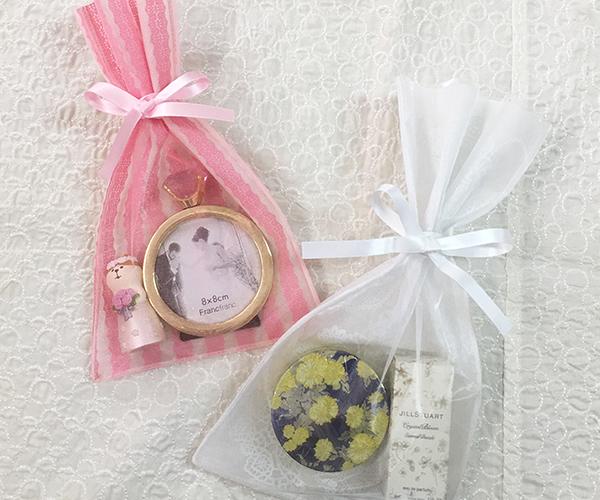 オーガンジー ラッピング ブライダル 雑貨 かわいい 女性 クール ガール キュート 洋菓子 焼き菓子 ドラジェ