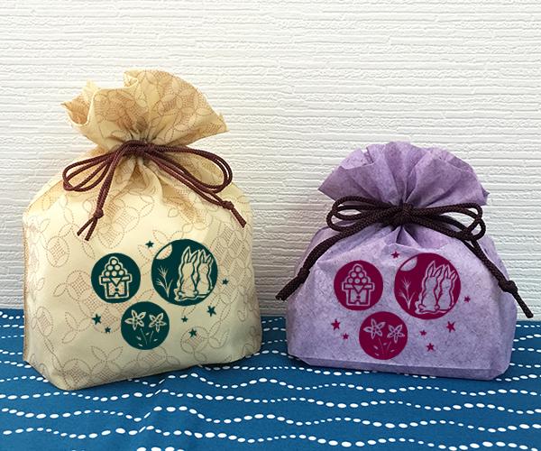 月見 団子 和菓子 ラッピング 秋祭り うさぎ