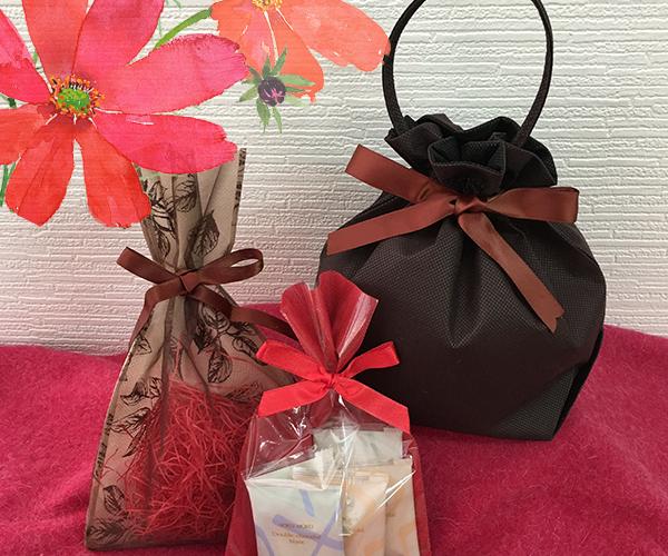 秋 オータム ボルドー ブラウン 洋菓子 和菓子