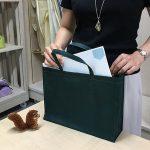 不織布バッグ「タテ型」と「ヨコ型」の特徴について