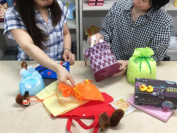 ラッピング 包装 相談 相談室 和菓子 洋菓子 まるごと