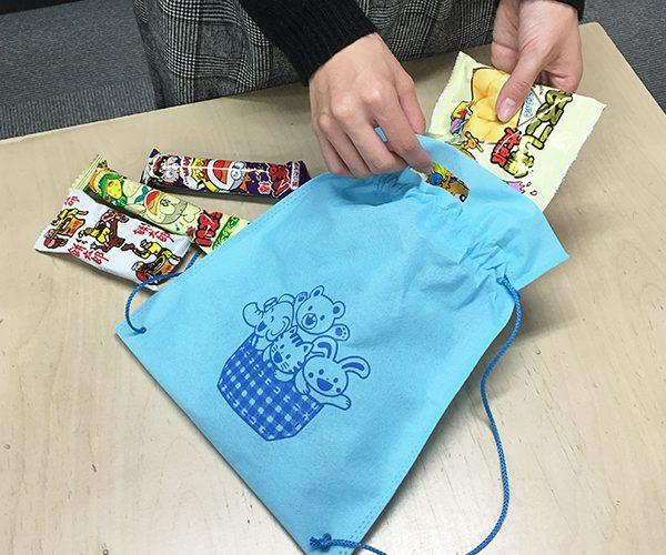 駄菓子 ナップサック 車ディーラー 販売店 イベント 住宅展示場 粗品