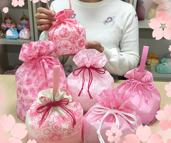 春色 スプリング ピンク かわいい ラッピング 春 桜 洋菓子 和菓子