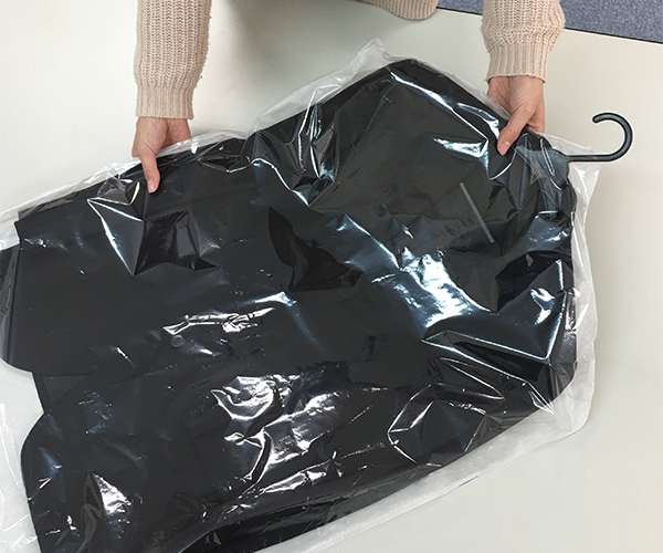クリーニング 衣替え スーツ クローゼット 収納