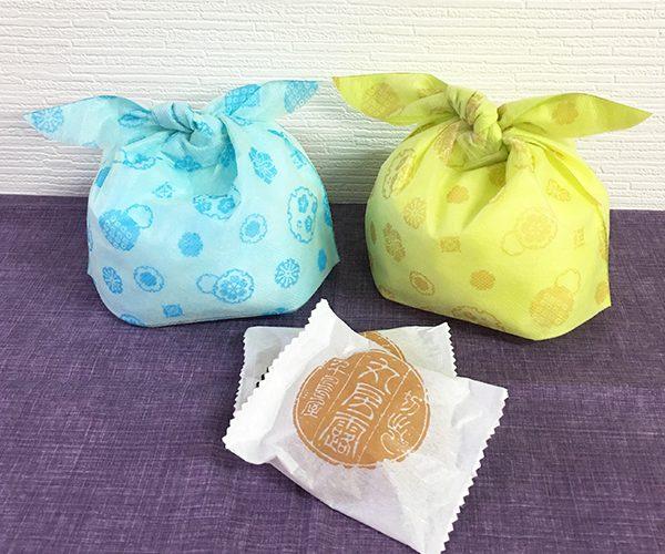 風呂敷 和菓子 洋菓子 雪柄 春
