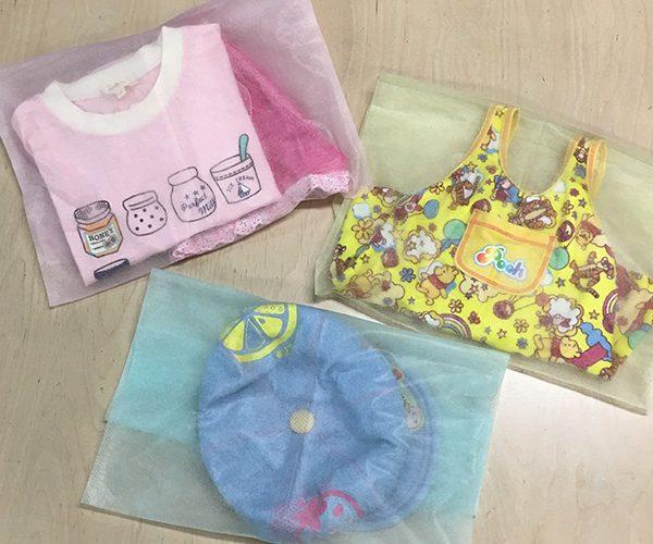 平袋 内袋 カラフル かわいい 子供服 ファッション レディース かごバッグ