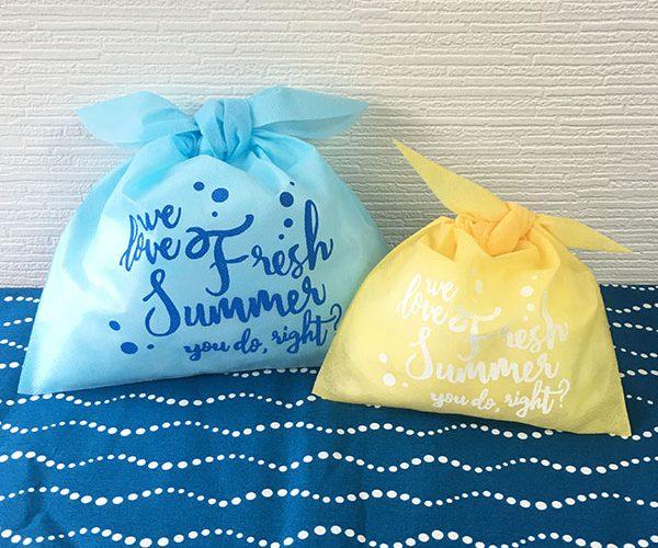 風呂敷 洋菓子 和菓子 名入れ 夏 菓子 サマー クール
