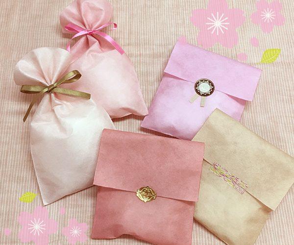 平袋 ラッピング さくら 桜 ピンク かわいい