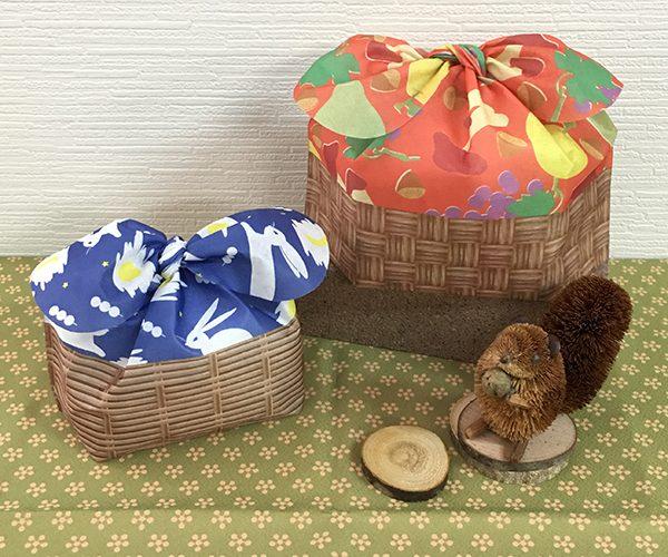 秋 オータム ラッピング 洋菓子 和菓子 栗 リボン かわいい