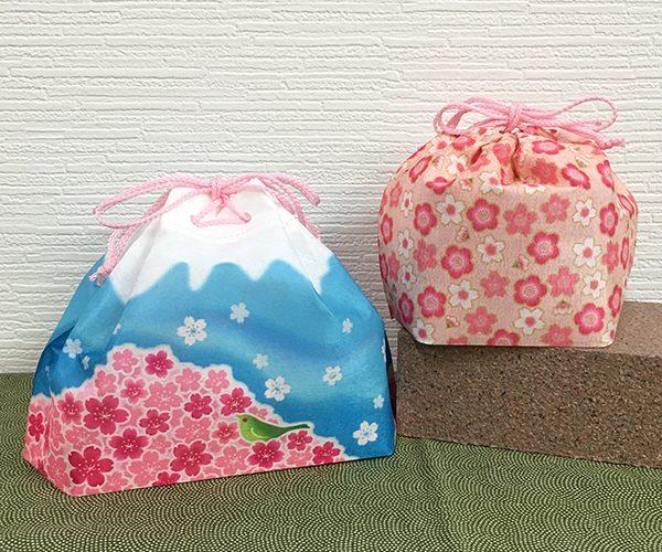 富士山 桜 年賀 年始