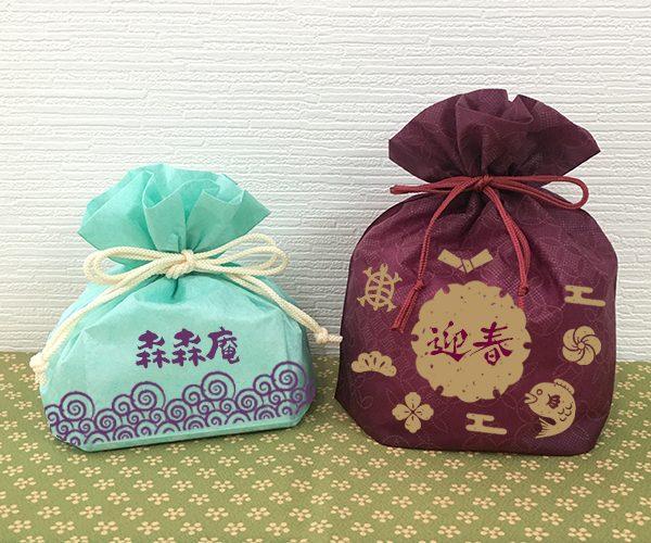 巾着 名入れ 和菓子 洋菓子 米菓