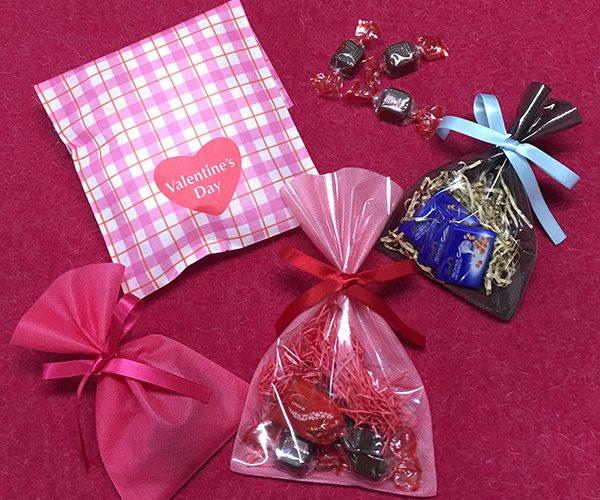 バレンタイン ばらまき チョコレート ラッピング