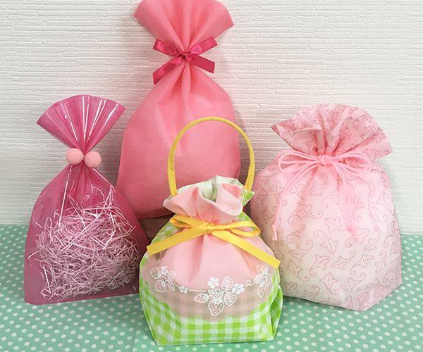 春 ピンク かわいい 桜 いちご ラッピング