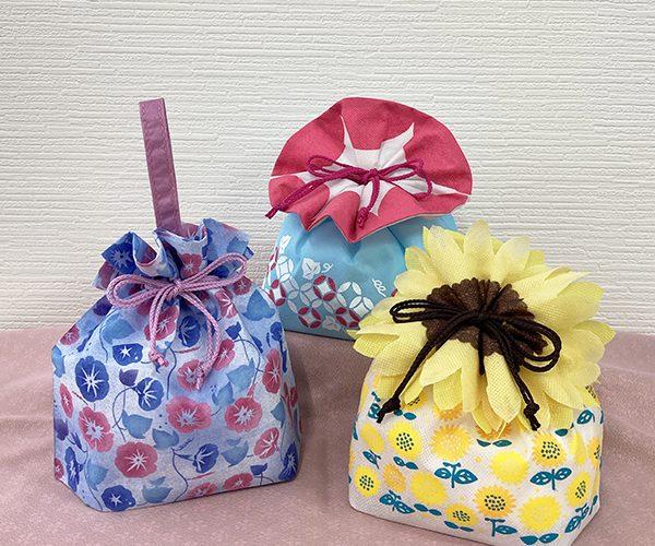 花 ラッピング あさがお ひまわり 和菓子 洋菓子 特集