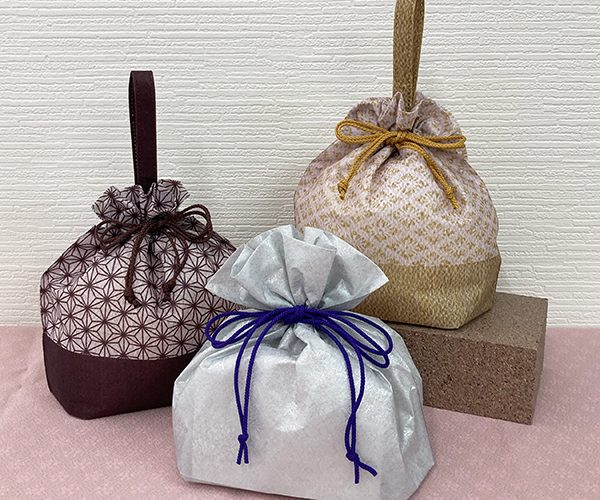 秋 ラッピング 和菓子 和柄 伝統柄