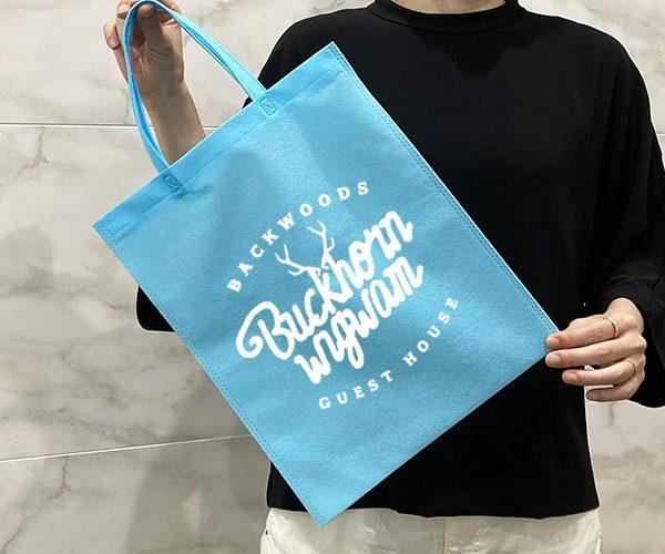 名入れ印刷 不織布バッグ 大口注文