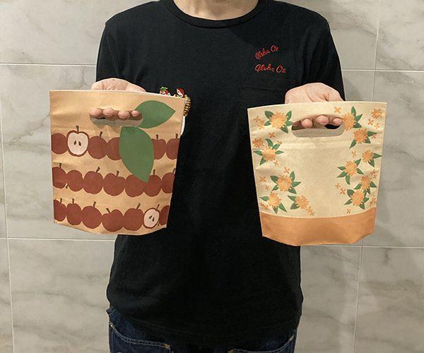 りんご 金木犀 ラッピング 洋菓子 和菓子