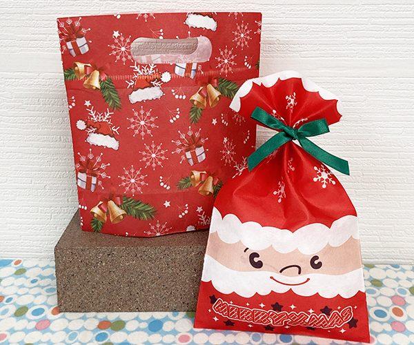 ウィンター 冬 ラッピング クリスマス サンタ