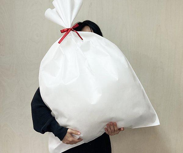 大きいラッピング 袋 厚手の洋服ラッピング セール