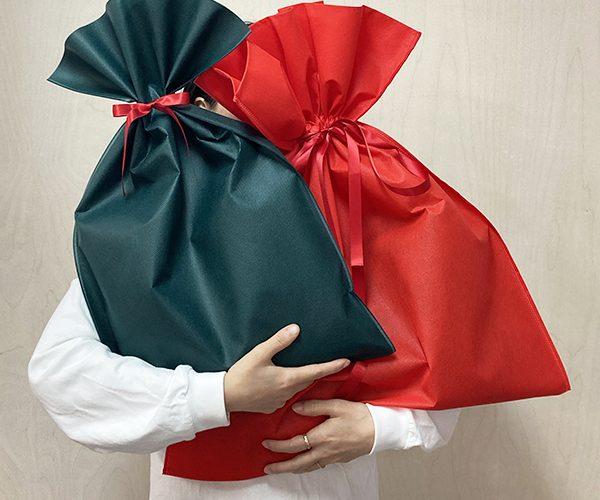 ギフト クリスマス 大きいギフト 簡単ラッピング 年末 おもちゃ 厚手の洋服 赤ラッピング 緑ラッピング