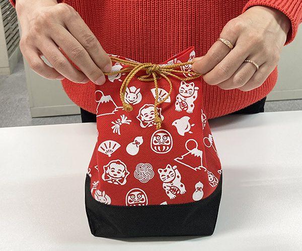 和菓子 洋菓子 信玄袋 ラッピング 吉祥柄 お祝い 節句 新春 年賀 正月