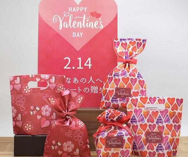 バレンタイン ホワイトデー ラッピング 簡単ラッピング セット販売 店頭ディスプレイ 洋菓子 和菓子