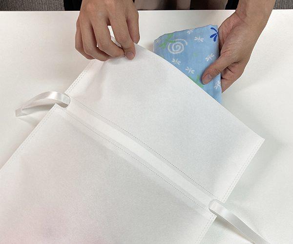 ギフト ギフトバッグ タオル アパレル 簡単ラッピング プレゼント