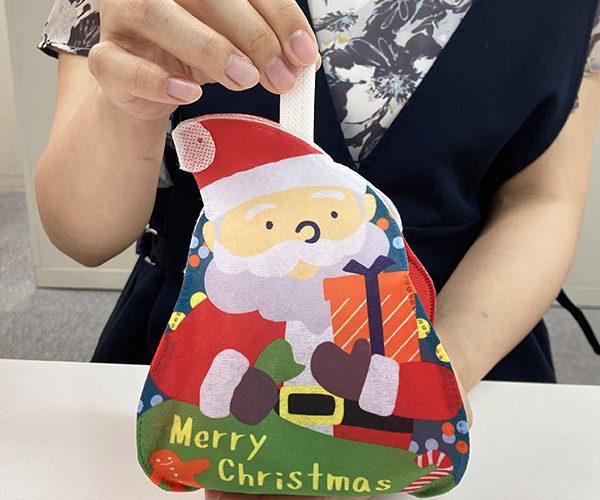 クリスマス アーリークリスマス ラッピング サンタ スノーマン 簡単ラッピング 和菓子 洋菓子