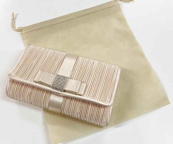 不織布インナー巾着 巾着 内袋 平袋 アパレル バッグ シューズ ブライダル